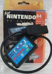 Cabo rf super Nintendo e Nintendo 64