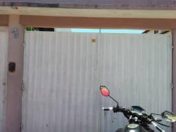 Portão de garagem de duas bandas