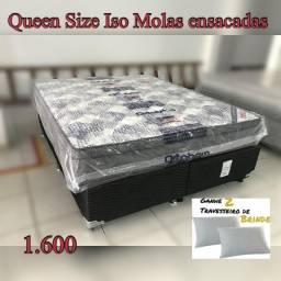 Título do anúncio: CAma queen size molas ensacadas ortobom