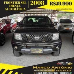 FRONTIER 2008/2008 2.5 SEL 4X4 CD TURBO ELETRONIC DIESEL 4P AUTOMÁTICO