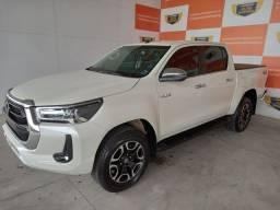 Título do anúncio: Toyota Hilux SRX 2.8 4x4 2021 Branco Perola Zero Km A Pronta Entrega