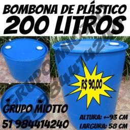 Bombona 200 Litros Fechada