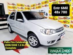 Título do anúncio: Fiat Palio Fire Celebration 1.0 Flex 2008 Completo