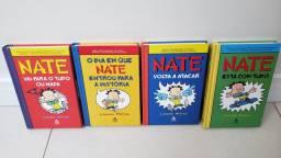 Livro infantil Nate