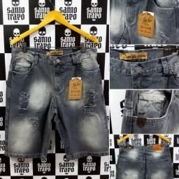 Bermudas Jeans John John - 42, 44, 46 e 48