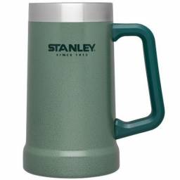 Caneca Térmica De Cerveja/Chopp Green 709Ml - Stanley<br><br>