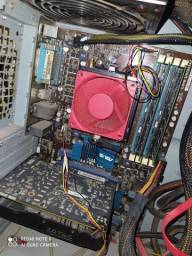 kit gamer amd fx 8300 + 8gb ram + placa mae