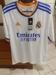 Título do anúncio: Camisa Real Madrid 2021/2022 PRONTA ENTREGA
