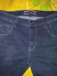 Calça jeans tripé nova
