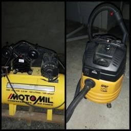Título do anúncio: Compressor e aspirador profissional.