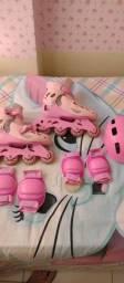 Patins rosa