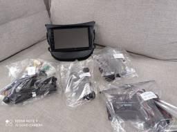 Central Multimídia Universal GPS TV digital Câmera frontal e ré :: Completo!
