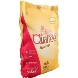 Ração Quatree Gourmet Para Gatos 10Kg! (Disponível Adulto, Filhote e Castrados)
