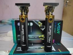 Máquina de acabamento vgr profissional para barbearias e depilação