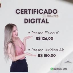 Título do anúncio: Certificado digital