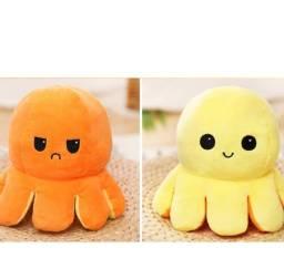 Polvo Reversivel Octopu De Dupla Face Com Flip Octopu / Brinquedo De Pelúcia / Presente