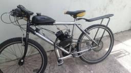 Bicicleta Motorizada 80cc (Troco apenas por bike)