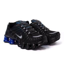 Tênis Nike Shox TLX 12 molas Refletivo