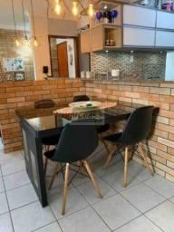 Apartamento com 3 dormitórios à venda, 75 m² por R$ 360.000 - Santo Agostinho