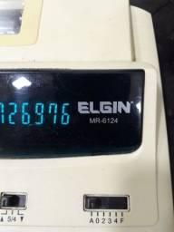 Calculadora e registradora da Elgin MR-6124