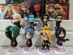 Mini figuras de ação do anime naruto