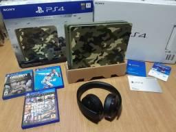 Playstation Ps4 Slim 1 Tb Limited Edition Camuflado