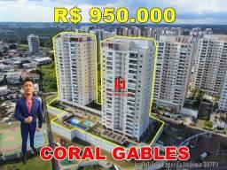 Apartamento 3 suítes, 134m², Andar Alto, Financia, Varanda Churrasqueira