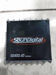 Título do anúncio: Sd 400.4 ,400 watts rms