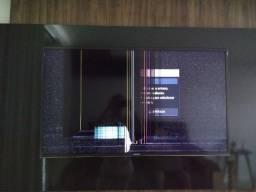 """Smartv Samsung 40"""" (tela quebrada)"""