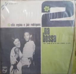 """Disco de Vinil 12 """" /LP - Dois Na Bossa - Elis Regina e Jair Rodrigues"""