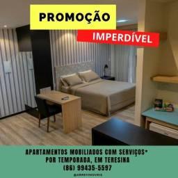 Promoção hospedagem por temporada em Teresina com Limpeza