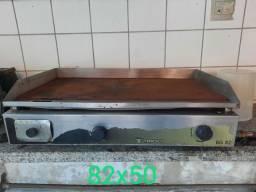 Chapa aço inox usada
