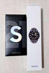 Relógio Samsung Galaxy Watch 3 LTE, lacrado. Parcelo no cartão.