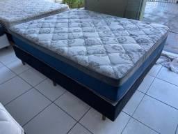 cama box Ortobom queen size - entrego