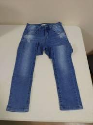 Calça jeans tamanho 10