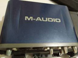 Placa M- Áudio em excelente estado.
