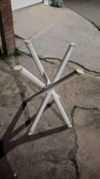 Título do anúncio: Base de mesa para mármore ou vidro.