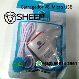 Fone Renux V8 Micro USB com cabo integrado