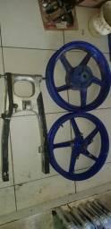 Rodas e balanças...twister