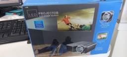 Título do anúncio: Mini projetor LCD legal time tô play