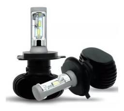Kit Lampada Ultra Led 6000k Full H1 H3 H4 Hb3 Hb4 H7 H8 H11