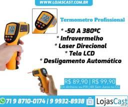 Título do anúncio: Termômetro Laser Digital Faixa De Temperatura: -50 A 380ºC - Uso Profissional/Industrial