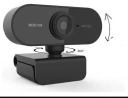 Câmera Webcam 1080p Com Microfone