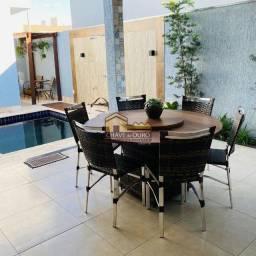 Título do anúncio: Casa em condomínio à venda, 3 quartos, 3 suítes, 4 vagas, Estância dos Ipês - Uberaba/MG