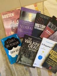 Livros semi-usados