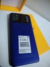 Xiaomi Poco M3 5G 4GB/128GB Versão goblal Parcelo cartão
