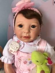 Título do anúncio: boneca bebê reborn - pronta entrega! super real com enxoval