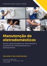 Título do anúncio: Manutenção de eletrodomésticos