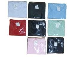 Título do anúncio: Camiseta De Poliéster Gola Redonda Para Sublimação