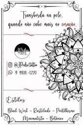 Título do anúncio: Tatuagem a domicilio em betim R$40,00